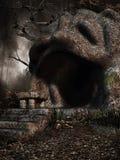 Escaleras a una cueva Foto de archivo libre de regalías