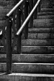 Escaleras urbanas Fotografía de archivo