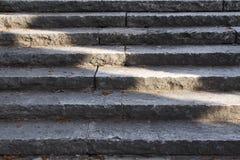 Escaleras viejas Imagen de archivo