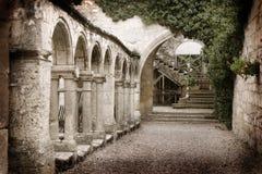 Escaleras viejas Fotografía de archivo libre de regalías
