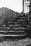 Escaleras viejas Imagenes de archivo