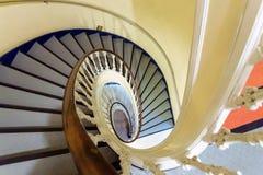Escaleras viejas Imágenes de archivo libres de regalías