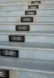 Escaleras y luces Fotografía de archivo libre de regalías
