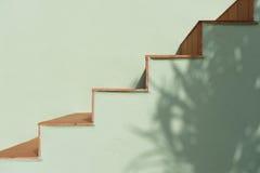 Escaleras y sombra Foto de archivo