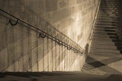 Escaleras y sombras Fotos de archivo libres de regalías
