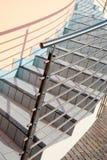 Escaleras y verjas de acero Imagen de archivo