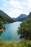 Escales lagoon, in the Catalan Pyrenees, Spain Royalty Free Stock Photography