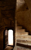 Escalier à l'inconnu Images libres de droits