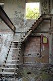 Escalier à l'inconnu Images stock