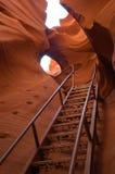 Escalier à l'infini Photographie stock