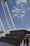 Escalier à la ville de ciel des arts et des sciences de Valencia Spain photos stock