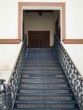 Escalier à la ville hôtel Image stock