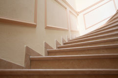 Escalier élégant Images stock