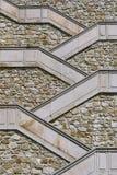 Escalier au château Images stock