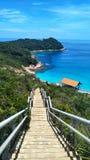 Escalier au ciel photographie stock libre de droits