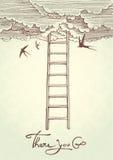 Escalier au ciel. Photographie stock libre de droits