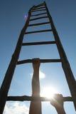 Escalier au ciel Images stock