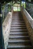 Escalier au ciel dans Goregaon images libres de droits