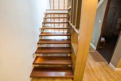 Escalier au prochain plancher Photo libre de droits