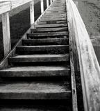 Escalier au salut Photographie stock