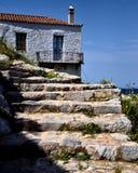 Escalier au Sun photographie stock libre de droits