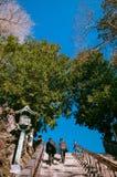 Escalier au temple de ji de Narita San Shinsho, Narita, Chiba, Japon photographie stock libre de droits