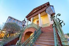 Escalier aux filles unies du bâtiment de Confederacy dedans Images libres de droits