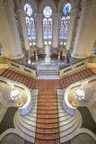 Escalier central du palais de paix images libres de droits