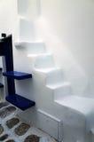 Escalier chez Mykonos, Grèce image stock