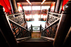 Escalier chinois Photo libre de droits