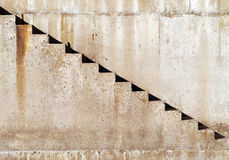 Escalier concret Photographie stock