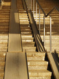 Escalier concret large Images stock