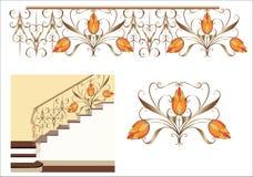 Escalier décoratif Photographie stock libre de droits