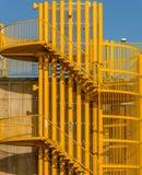 Escalier d'enroulement photo libre de droits