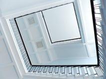 escalier d'infini à Photo libre de droits