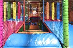 Escalier d'intérieur de terrain de jeu Photographie stock libre de droits