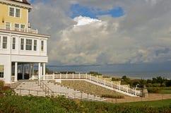 Escalier d'océan Image libre de droits