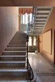 Escalier d'un manoir de luxe Photo stock