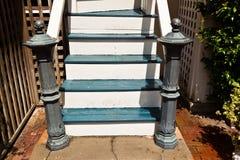 Escalier d'une vieille maison Image stock