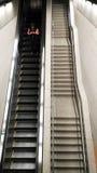 Escalier dans l'aéroport Singapour de Changi Images stock