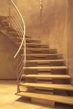 Escalier dans la maison de luxe Images stock