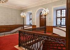 Escalier dans le hall Photo stock
