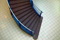 Escalier dans le mail Photo libre de droits