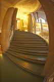 Escalier dans le palais de la justice Berlin, Allemagne Photos stock