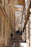 Escalier dans le quart arabe image stock