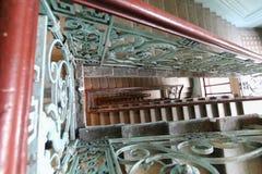Escalier dans le saint Peterburg image stock