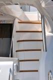 Escalier dans le yacht Image stock