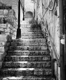 Escalier dans Zefat Photo stock