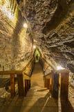 Escalier de caverne Images libres de droits