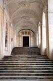 Escalier de château Image libre de droits